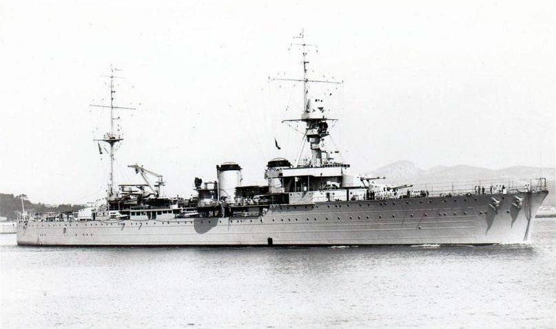 Французский легкий крейсер «Ламотт-Пике»
