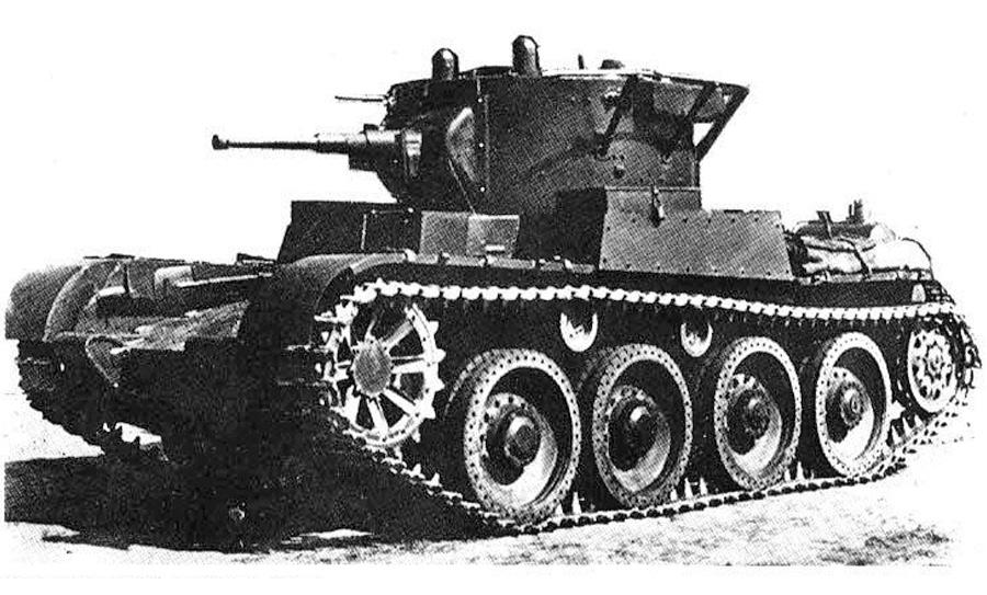 Танк Т-46: попытка скрестить живучесть Т-26 и маневренность БТ-5