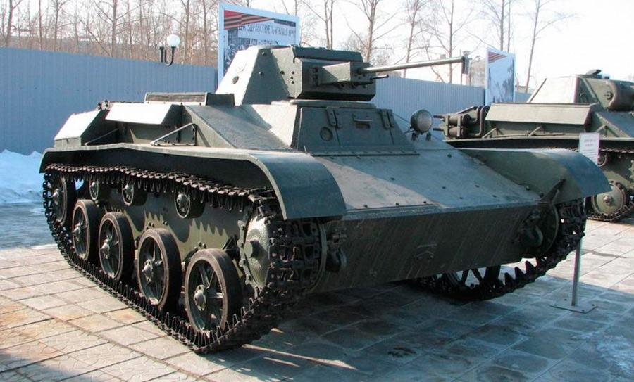 Танк Т-60 с автоматической пушкой