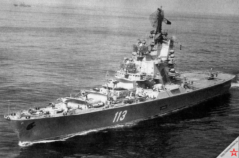 «Кондор» по имени «Ленинград» движется с визитом на Кубу. 1984 г.