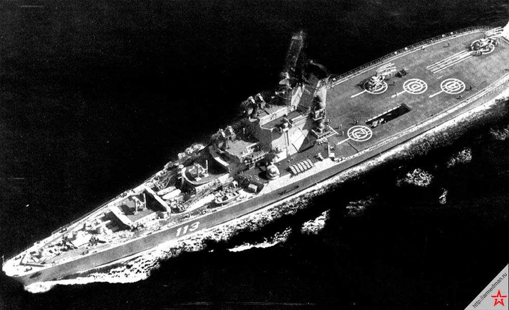 Противолодочный крейсер проекта 1123 «Ленинград». «Кондоры» были вполне удачными кораблями, но только при условиях действия в морях типа Черного или Средиземного.
