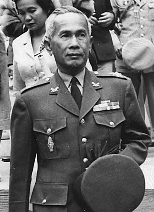 Тайский генерал Луанг Пибусонгран.