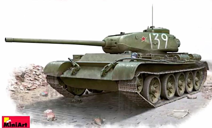Т-44 - средний танк «застрявший» между военным и послевоенным поколением танков. Впрочем, именно ему и предстояло определить облик танков будущего