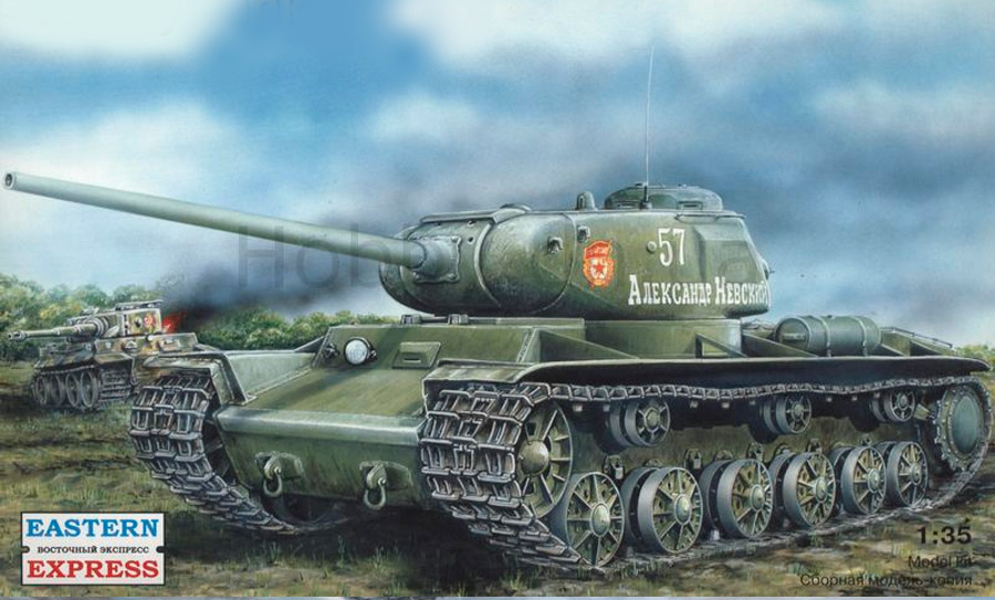 КВ-85 - попытка усилить вооружение основного тяжелого танка СССР за счет установки нового орудия