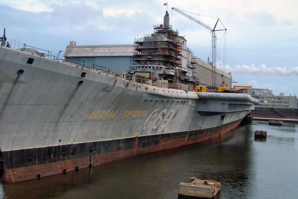 ТАКР «Адмирал Горшков» превращается в авианосец «Викрамадитья»