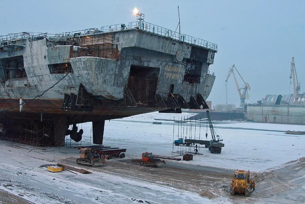 Корма «Адмирала Горшкова»-«Викрамадитья»