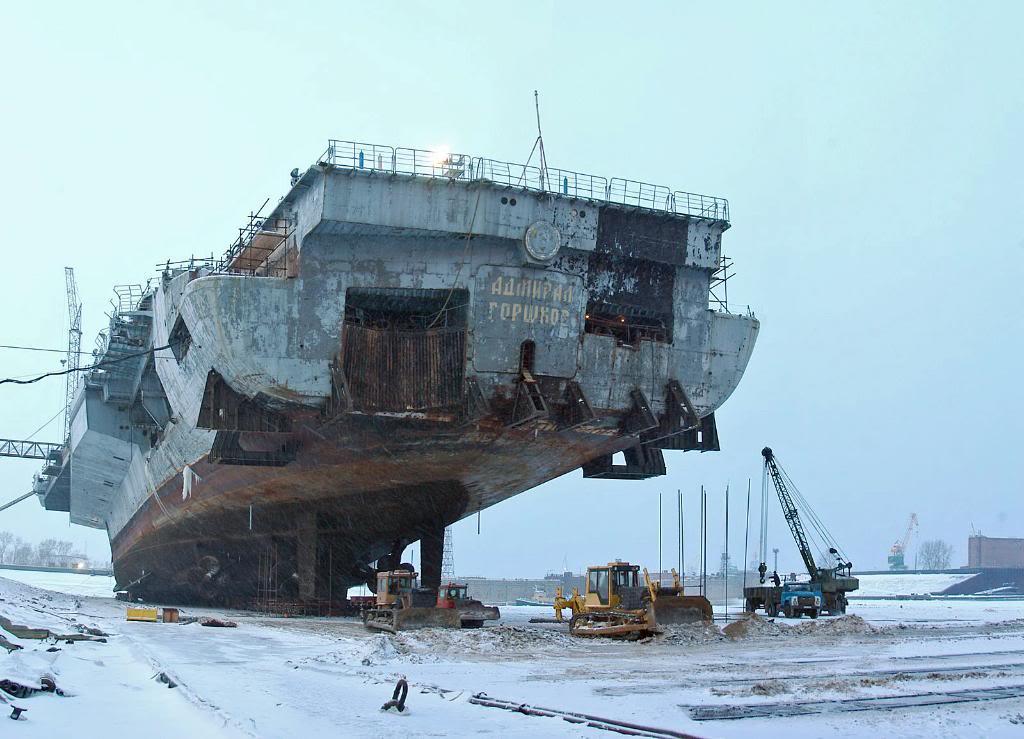 Перестройка ТАКР «Адмирал Горшков» в авианосец «Викрамадитья»