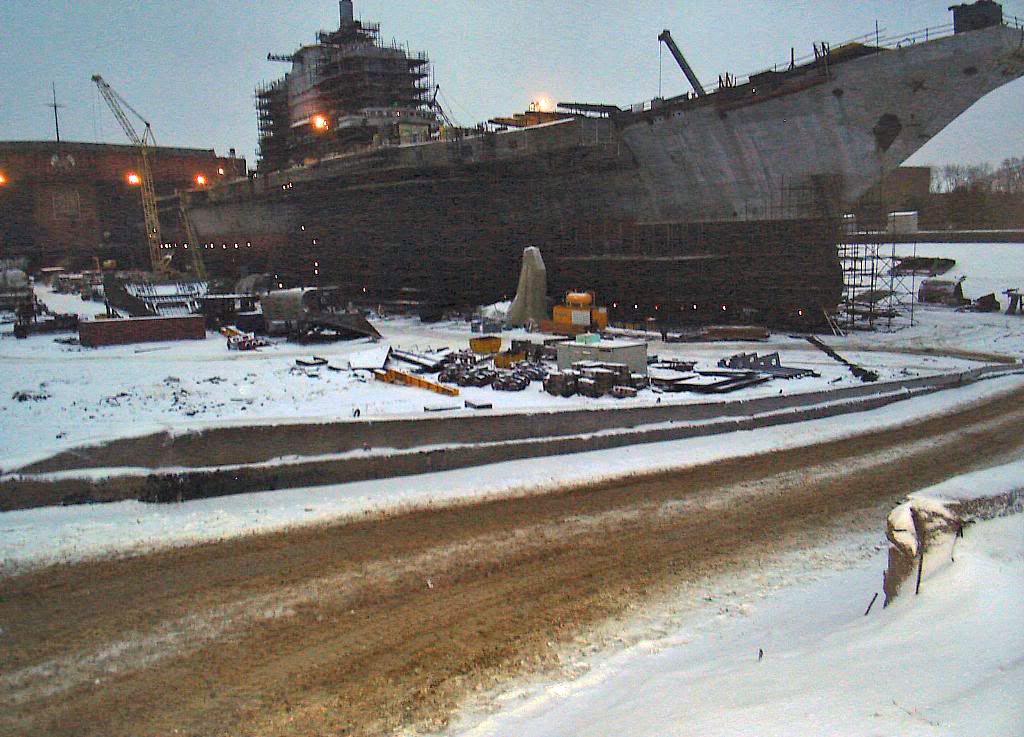 Перестройка ТАКР «Адмирал Горшков» в авианосец «Викрамадитья» идет полным ходом