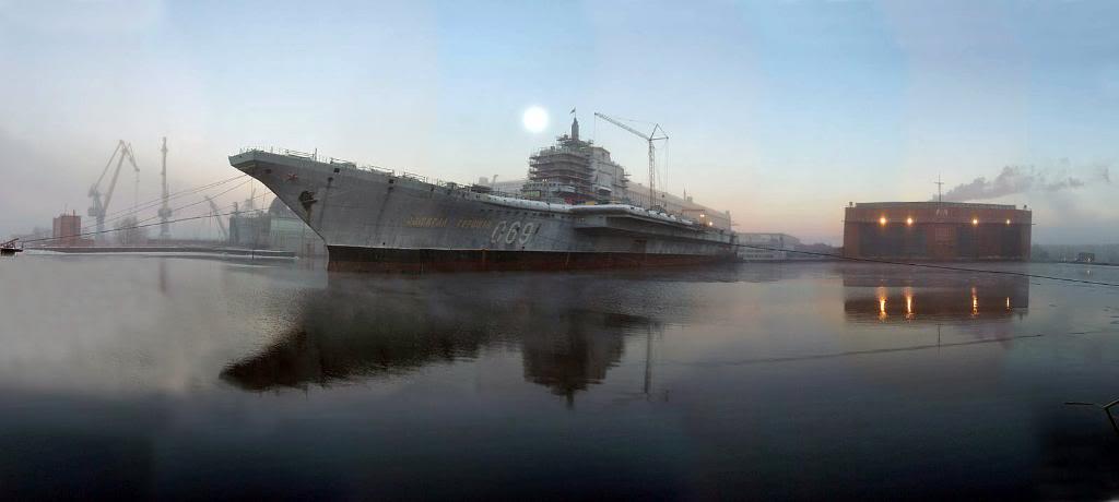 «Адмирал Горшков» в Северодвинске