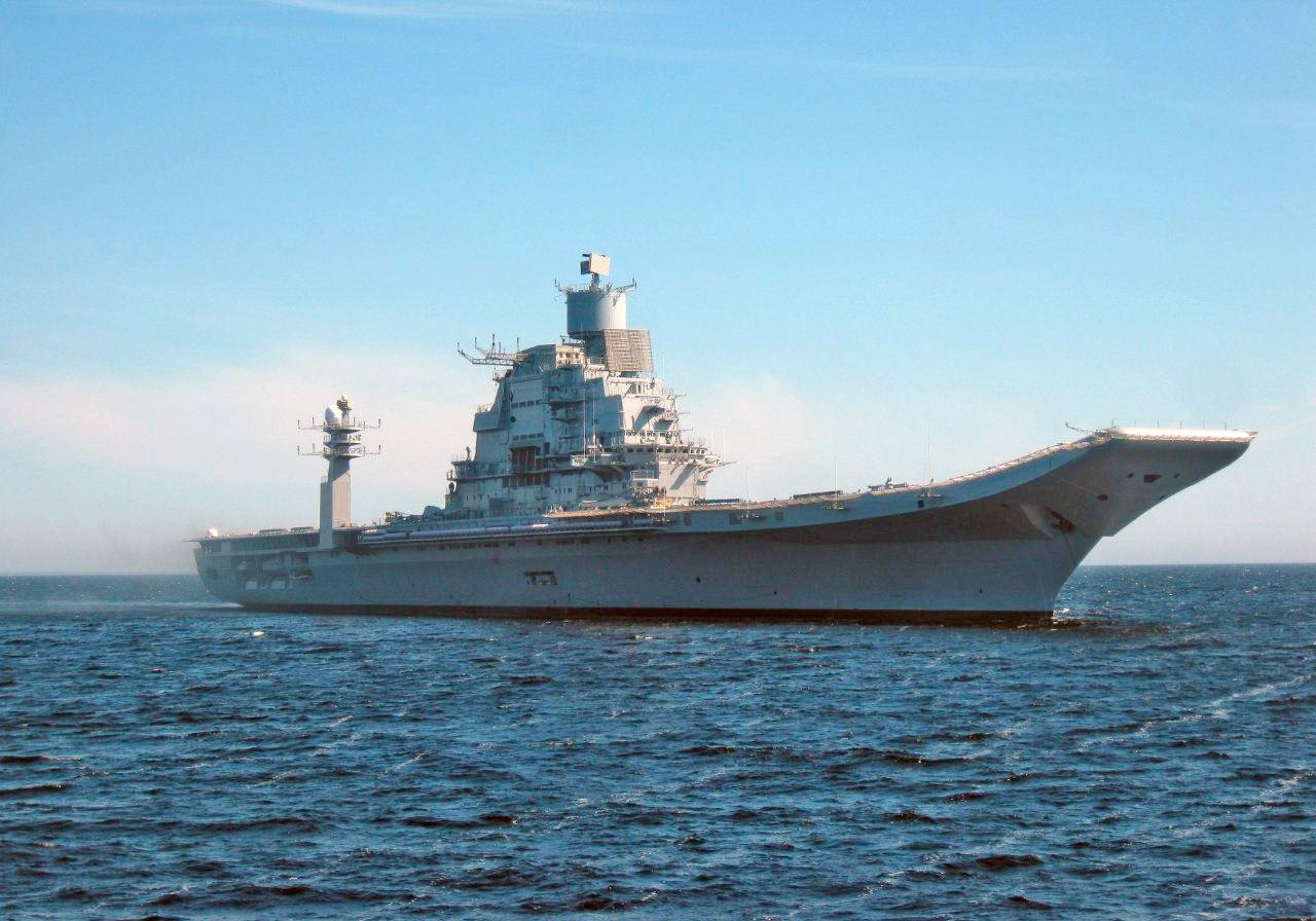 Авианосец «Викрамадитья» (бывший «Адмирал Горшков») во всей красе