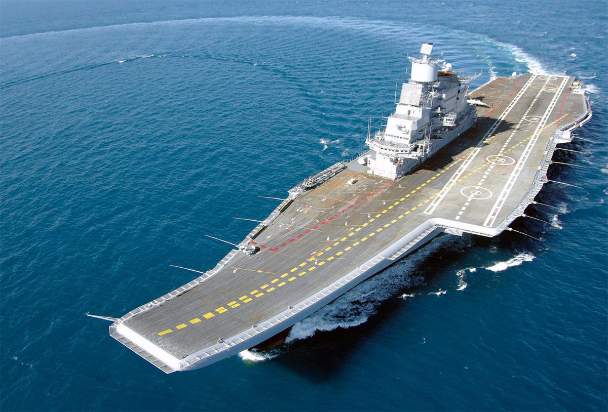 Индийский флагман - авианосец «Викрамадитья» (бывший ТАКР «Адмирал Горшков»)
