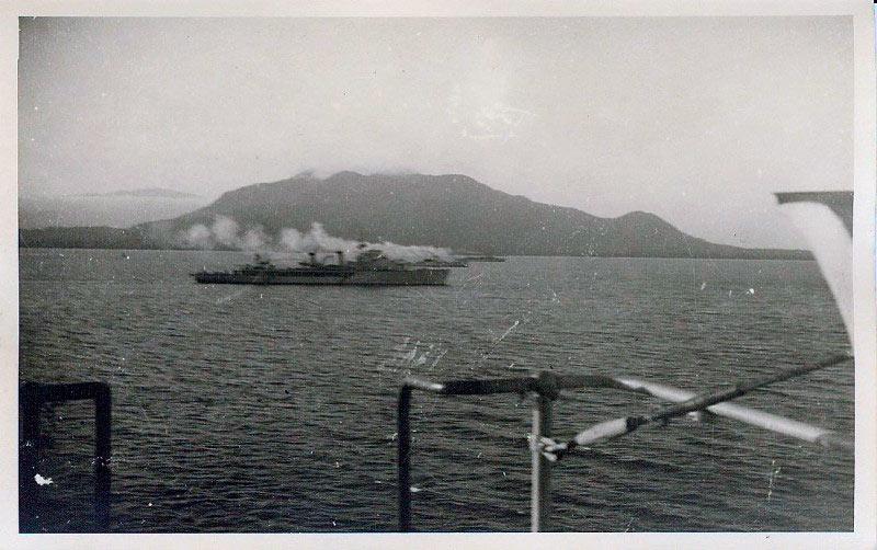 Французские авизо: «Адмирал Шарнье», «Таюр» и «Марн»