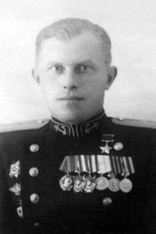 летчик-истребитель из состава авиации Северного Флота, Павел Дмитриевич Климов