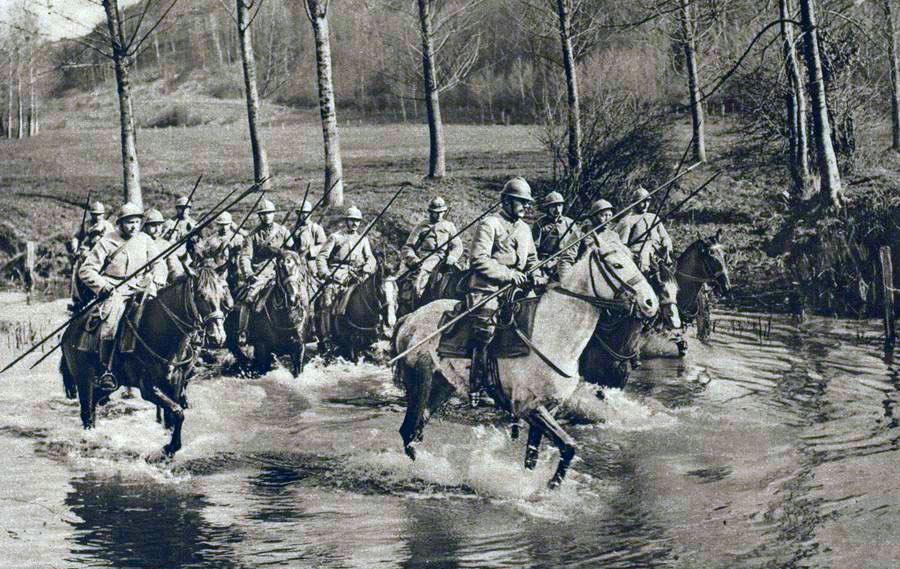 Французская кавалерия времен Первой Мировой войны