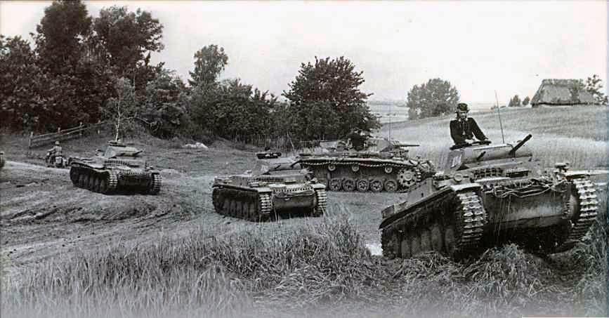 1941 год, первая немецкая танковая группа фон Клейста