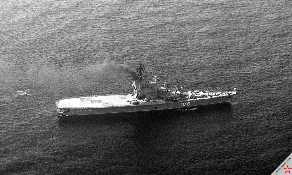 «Москва» в Средиземном море, 1991 год. Все-таки внешний вид «Кондоров» совершенно неповторим