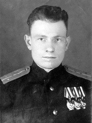 Герой СССР, летчик Стрельников Василий Поликарпович
