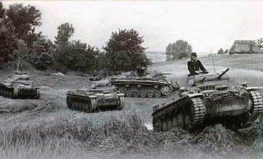 Состав немецких танковых групп в 1941 году при нападении на СССР