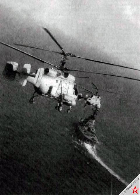 Вертолеты противолодочного крейсера «Москва» проект 1123