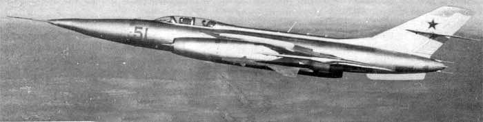 Советский перехватчик Як-28П