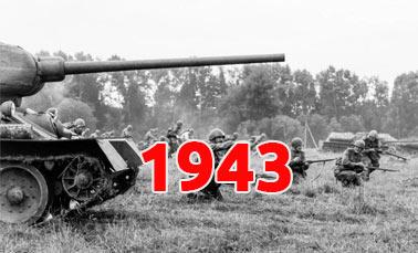 Полная хроника событий Великой Отечественной войны за 1943 год