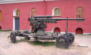 Советская 76-мм зенитная пушка обр. 1938 года