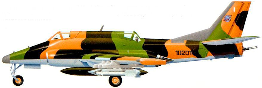 Общий вид реактивного двухместного бронированного штурмовика Ил-102.