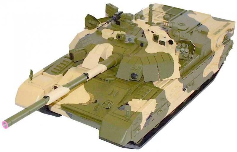 Общий вид боевой тяжёлой машины пехоты БТМП-84. Тот же танк Т-84, но с отделением для десанта