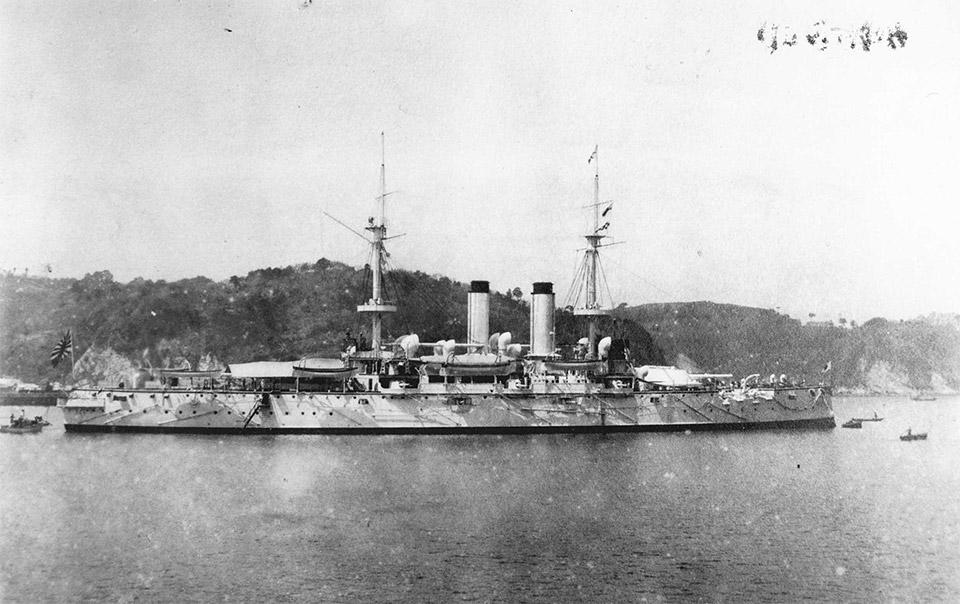 Японский эскадренный броненосец «Фудзи»