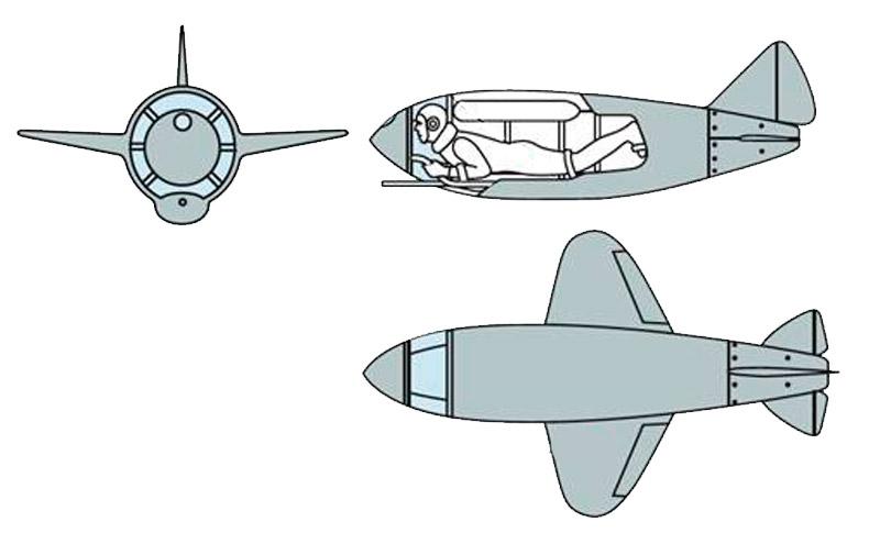 Истребитель-ракетоплан Льва Головина (СССР)
