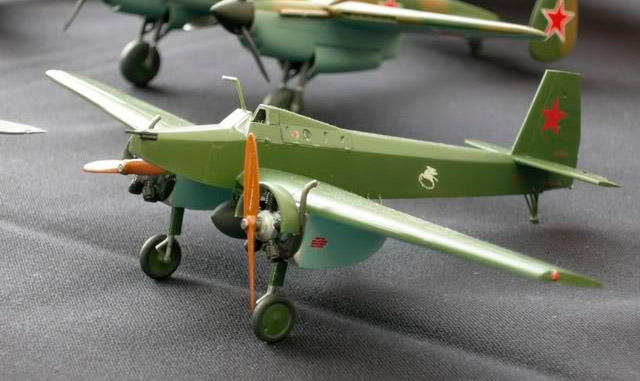 Модель легкого штурмовика Толмашевича, «ЛШБД»-«Пегаса»