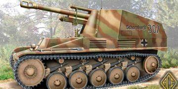 Самоходная 105-мм гаубица «Wespe» (Sd.Kfz.124)