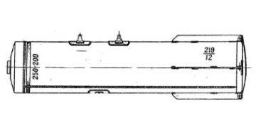 250 кг зажигательные авиабомбы ЗАБ-250-200ЖГ