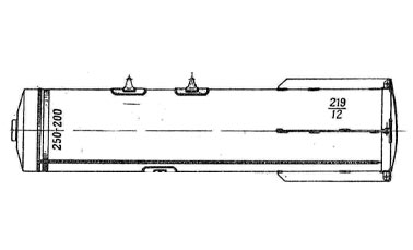 Советские 250 кг зажигательные авиабомбы ЗАБ-250-200ЖГ