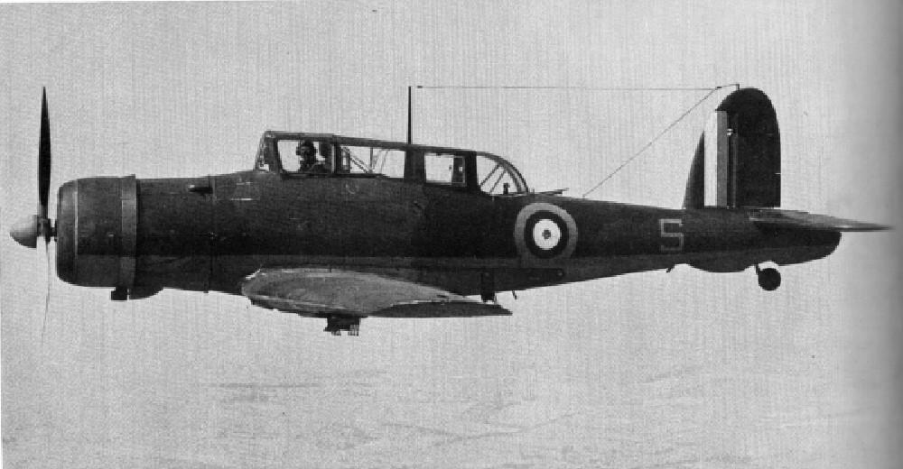 Британские пикировщики/истребители B-24 «Skua» мало чем отличились за годы войны.