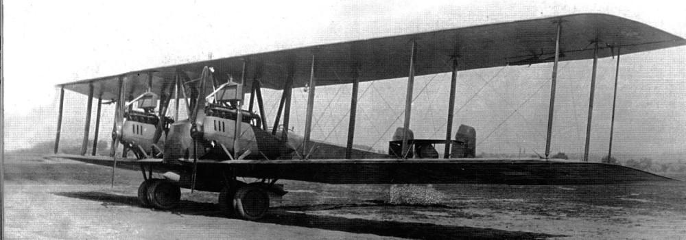 Немецкий средний бомбардировщик Friedrichshafen G.IV