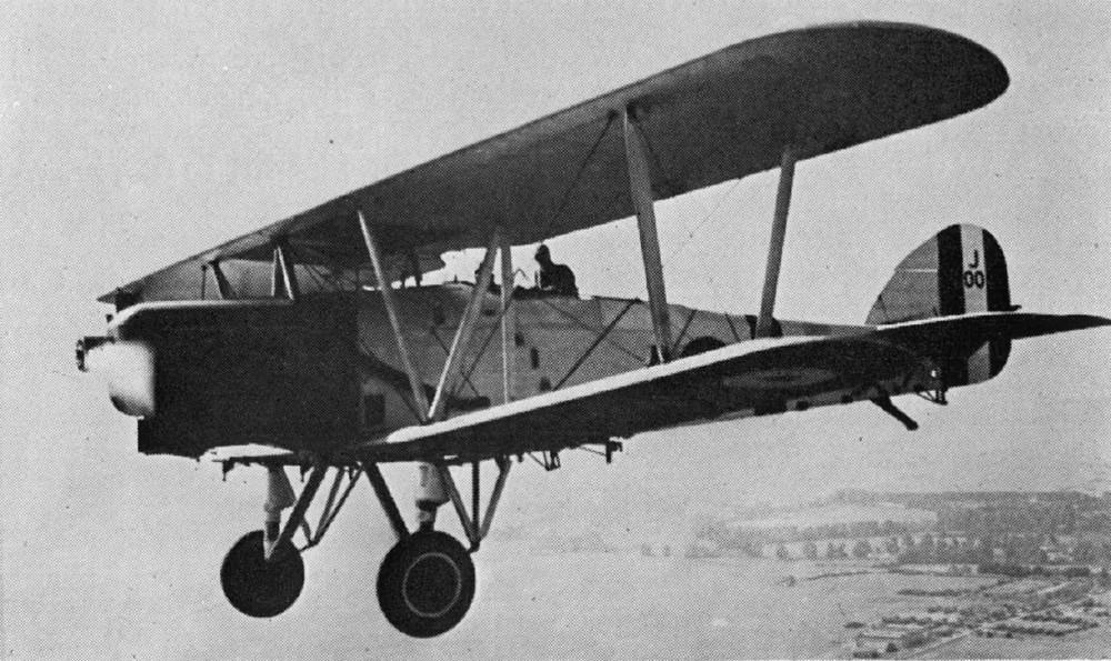 Hawker Horsley - британский бомбардировщик из второй половины 1920-х г.г.