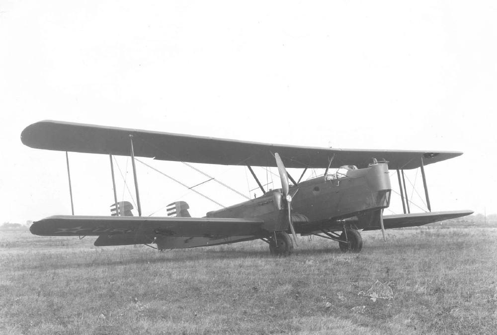 1926 год, США, прототип бомбардировщика Huff-Daland XB-1