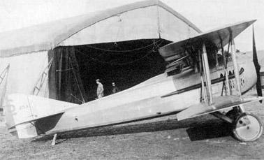 Пушечный истребитель SPAD S.12